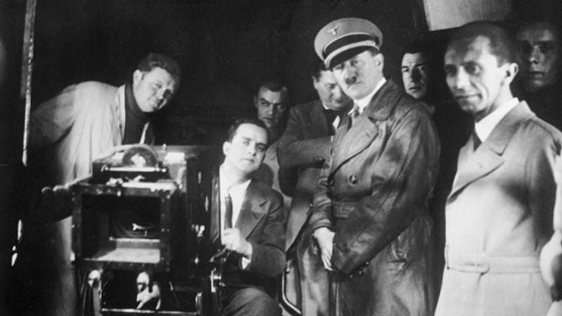 Illustration for article titled Read This: New evidence of Hollywood's pre-WWII dealings with Hitler