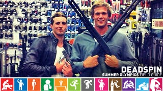 Illustration for article titled Olympics Field Guide: Nick D'Arcy And Kenrick Monk, Idiot Gun-Toting Aussie Swimmers