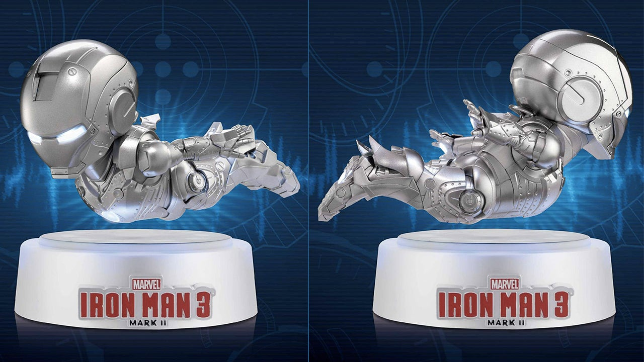 an electromagnet makes this iron man fly not an arc reactor