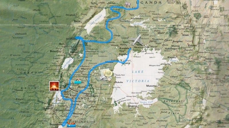 Illustration for article titled Így megyünk Afrika ♥-ébe