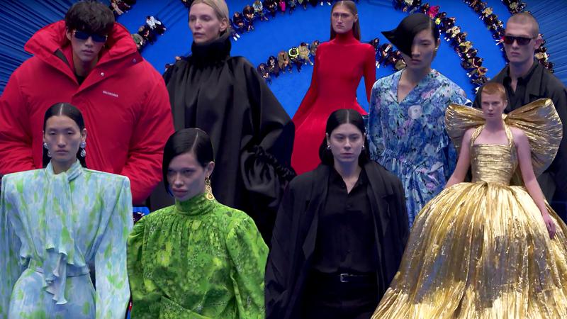 Balenciaga Presents Fashion For the End of the World