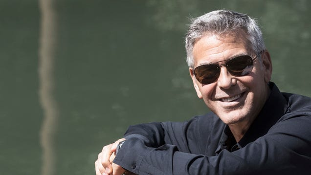 Everybody calm down: George Clooney is just fine