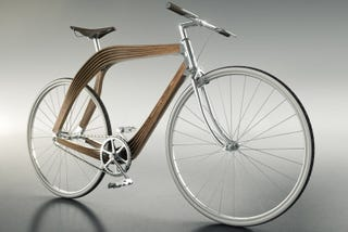 Illustration for article titled Architects Design Wooden Bicycle Frame to Explore Structural Engineering