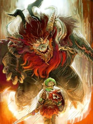Illustration for article titled The Legend of Zelda, Filtered Through God of War