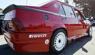 Illustration for article titled For $28,000, This 1987 Alfa Romeo Milano Is Ready To Race