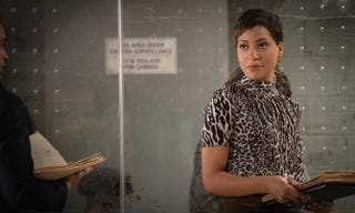 Cush Jumbo as Lucca Quinn in a scene from The Good WifeCBS