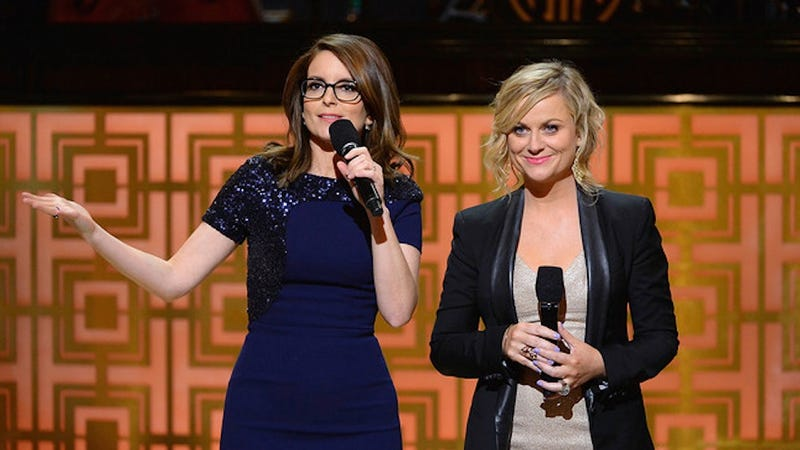 Illustration for article titled Fey and Poehler Have Thoughts On Being the Only Women at This Roast