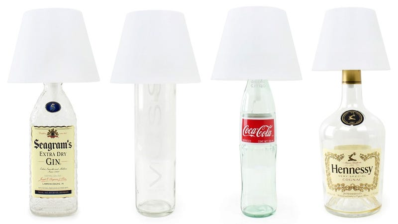 Illustration for article titled Turn Any Empty Bottle Into a USB-Powered LED Touch Lamp