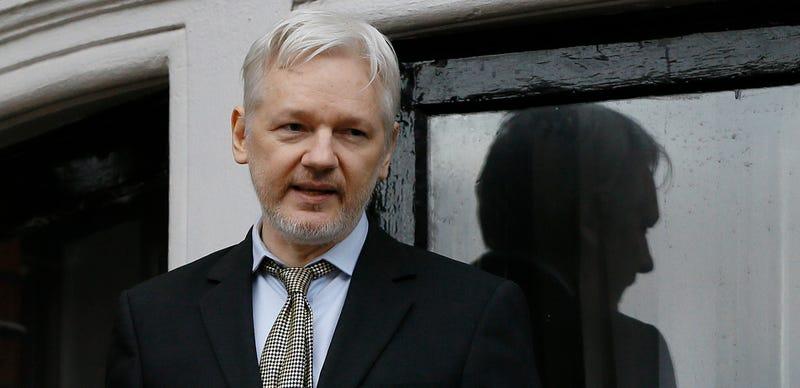 Assange. AP