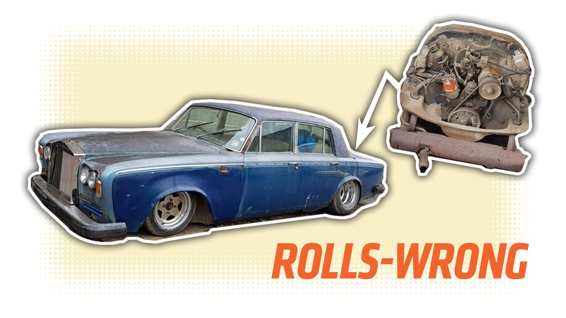 This Rusty Rolls Royce With A Ramshackle Beetle Engine Should Be The