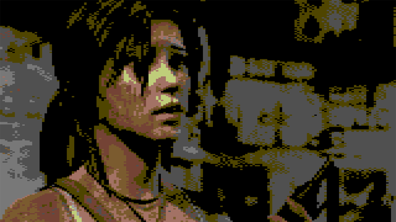 Illustration for article titled The Latest Games Would Look Really Cool As Commodore 64 Titles