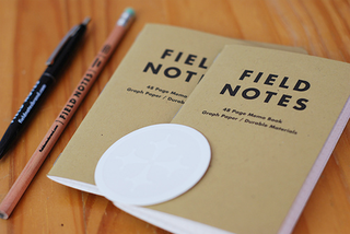 Illustration for article titled Field Notes Memo Books