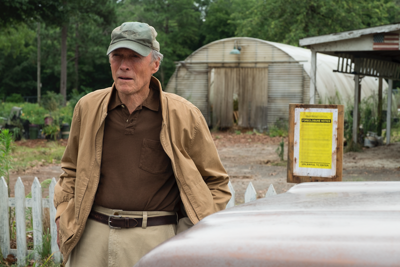 Clint Eastwood re-emerges from retirement for one last drug run in The Mule