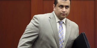 George Zimmerman leaves the courtroom on Friday. (Gary W. Green/pool/Getty Images)