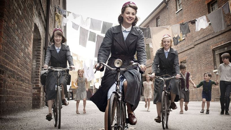 """Illustration for article titled Call The Midwife: """"Maybe A Baby"""""""