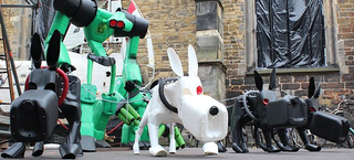 Illustration for article titled Robot Dogs Will Replace Pets in Super-Dense Cities