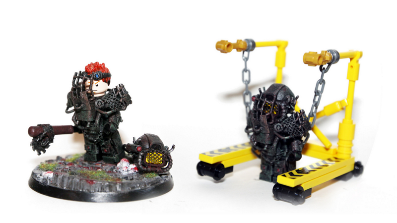 Illustration for article titled Custom LEGO Fallout Minifigs Are Works Of Art