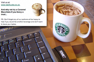 Illustration for article titled UK Starbucks Lets You Place Orders From Your Laptop