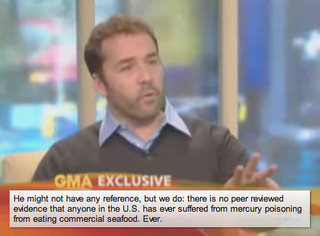 Illustration for article titled Jeremy Piven Poisoned? Sounds Fishy, Say Experts