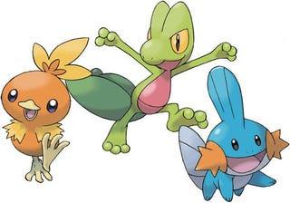 Rumour: Pokemon Alpha Saphire & Omega Ruby Starters Leaked?