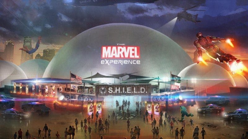 Illustration for article titled The Marvel Experience tour has been canceled