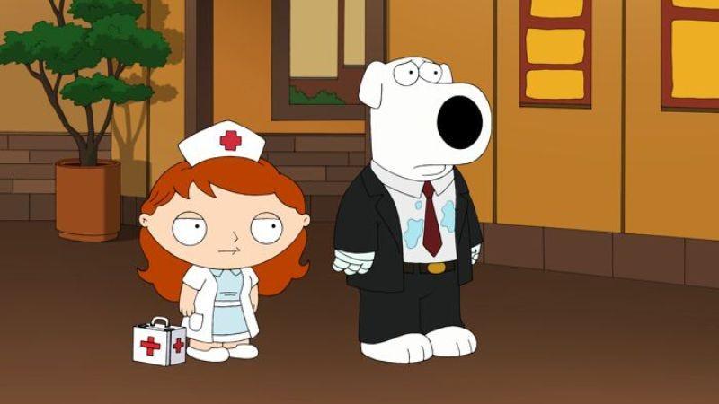 Family Guy The Blind Side
