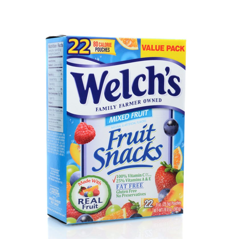 Illustration for article titled Parents Are Suing Welch's Fruit Snacks for Confusing Kids About What Fruit Is
