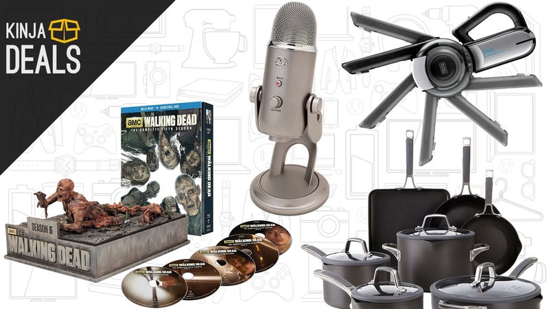 Illustration for article titled Sunday's Best Deals: Your New Vacuum, The Walking Dead, Blue Yeti