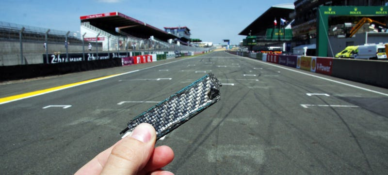 Illustration for article titled That Audi Le Mans Crash Was So Massive We're Still Finding R18 Pieces