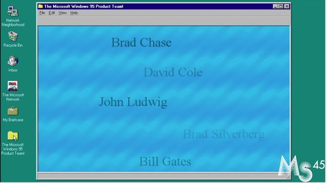 You Probably Never Found This Wholesome Windows 95 Easter Egg