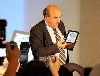 Illustration for article titled Acer Shows Off an Android Tablet (Which Looks Like an Ereader)