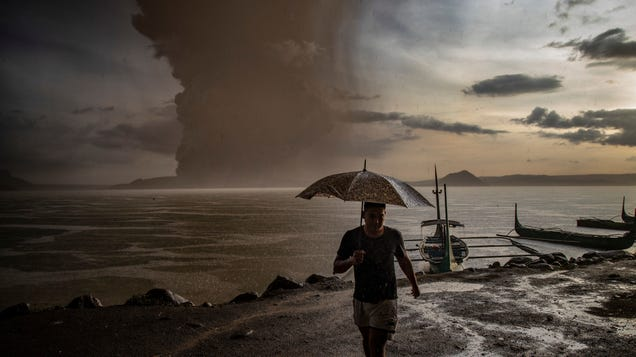 Why the Taal Eruption Won t Slow Down Climate Change