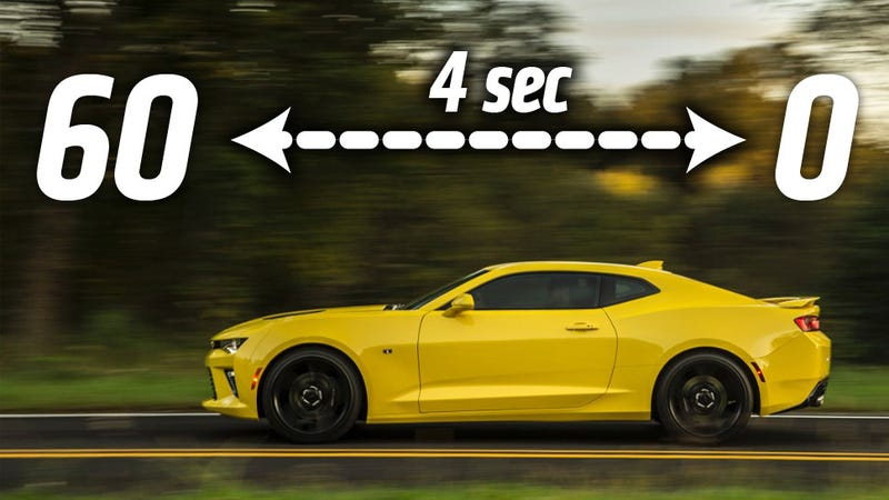 The 2016 Chevrolet Camaro SS Is Stupid Quick, Does 0 To 60 In 4 Seconds