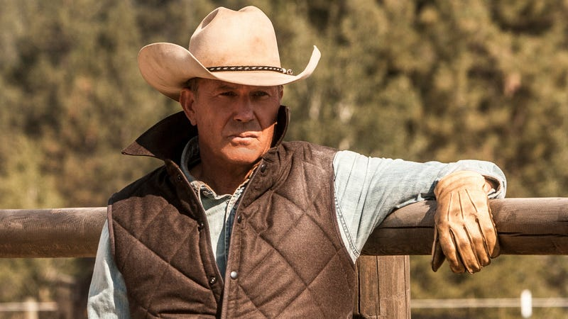 Kevin Costner in Yellowstone.