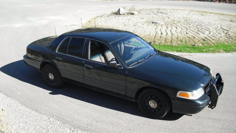 Ex Police Car Auctions >> Could It Be Illegal To Drive An Ex-Cop Car?