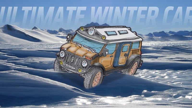 We Designed The Ultimate Winter Car