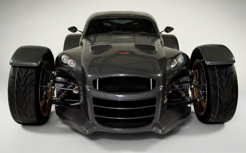 Illustration for article titled Donkervoort D8 GT4 Starts Production, Takes Light Weight To The Extreme