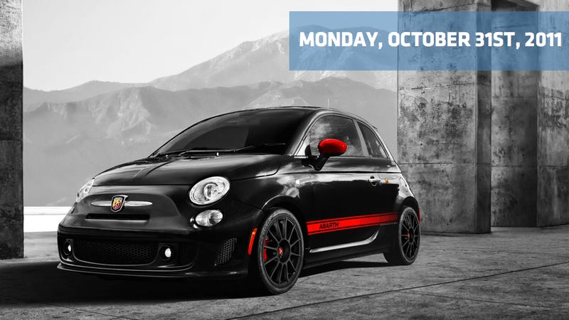 Illustration for article titled 2012 Fiat 500 Abarth, 2012 Mini Roadster, and Honda knows the Civic blows
