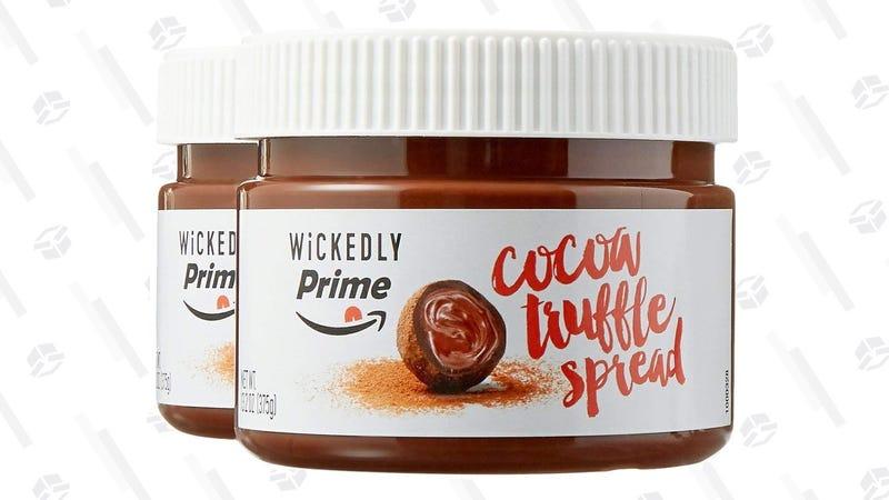 Wickedly Prime Cocoa Truffle Spread 2-Pack | $8 | Amazon Wickedly Prime Salted Cocoa Truffle Spread 2-Pack | $8 | Amazon