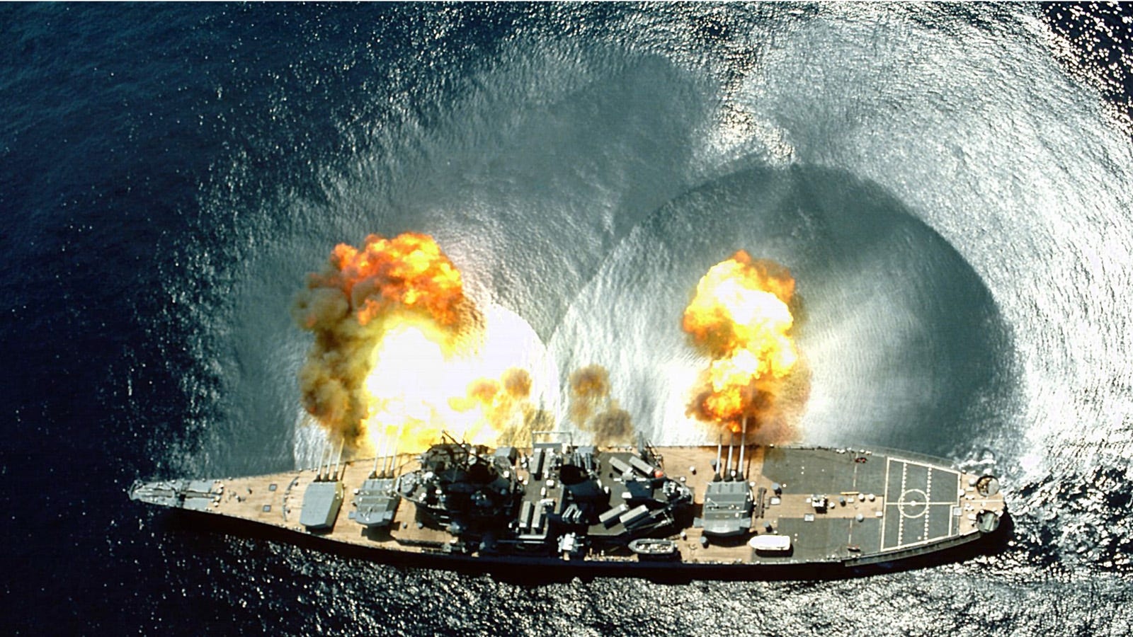What the Navy Shoots for Target Practice