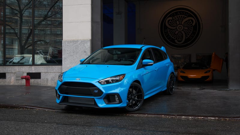 Illustration for article titled See And Hear The 2017 Ford Focus RS