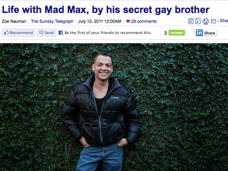 Illustration for article titled Mel Gibson's Gay Brother Comes To His Defense