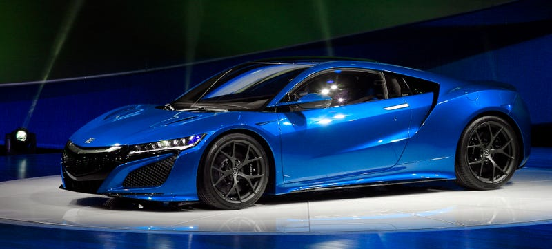 Illustration for article titled Would Senna Drive The 2016 Acura NSX?
