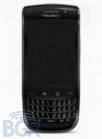 Illustration for article titled Details On RIM's New BlackBerry Slider?