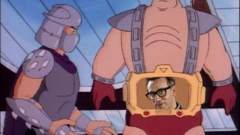 Illustration for article titled Fred Armisen is playing Krang in the new Ninja Turtles