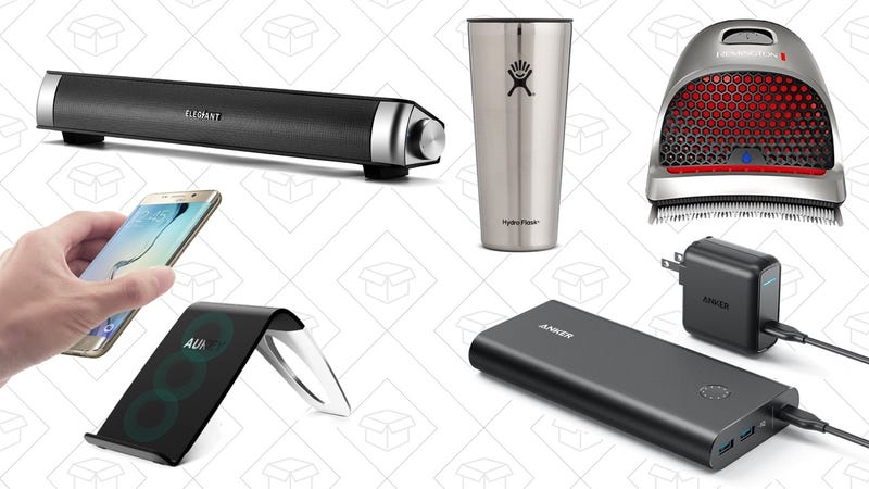 Illustration for article titled Wednesday's Top Deals: USB Soundbar, Remington's ShortCut Pro, Anker's Battery Packs and More