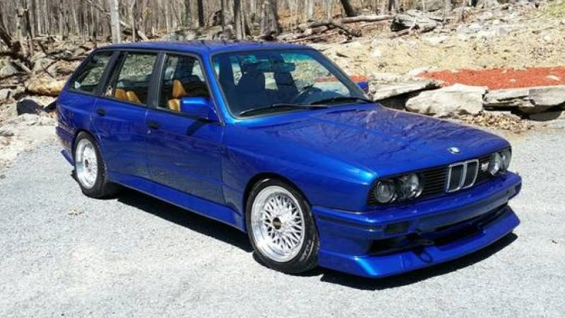 for sale jaloptastic bmw e30 wagon with m3 motor and. Black Bedroom Furniture Sets. Home Design Ideas