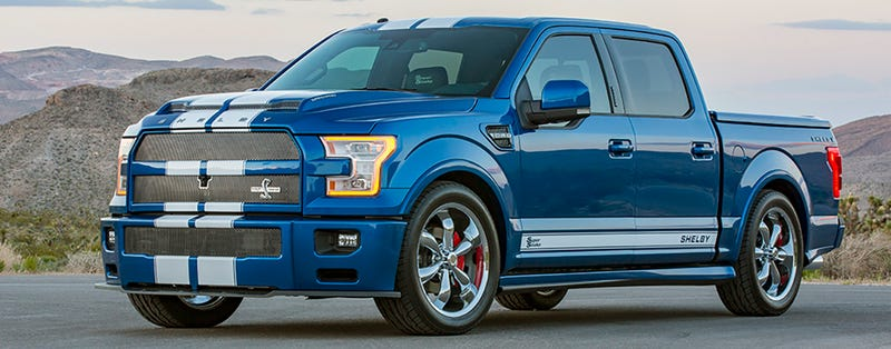Ford Shelby Truck >> The 750 Hp Shelby F 150 Super Snake Is Murica In Truck Form