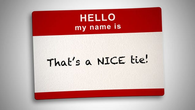 Use A Compliment When You've Forgotten A Name