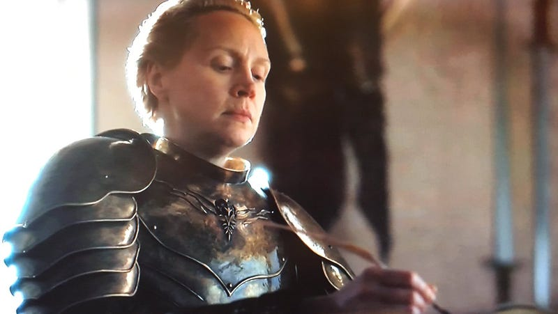 Illustration for article titled All hail Brienne The Blogger, First Of Her Name